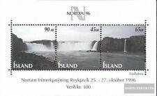 Islandia Bloque 19 (completa.edición.) usado 1996 exposicion de sellos