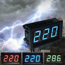Ac 70 500v Digital Voltmeter Led Display Panel 2 Wire Volt Voltage Test Meter