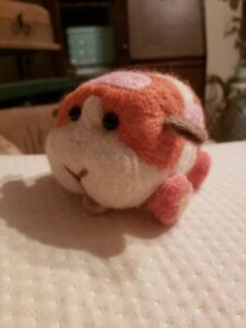 Felted pui pui Molcar, inspired plush