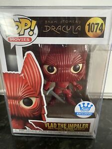 Funko pop Dracula Vlad the impaler special edition 1074