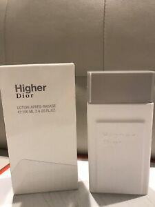 Christian Dior Higher After Shave Lotion 3.4 Discontinued Brand New In Box DIOR