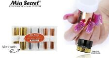 Mia Secret 1/4oz  UV LED Foil Gel - Black - Nail Decoration