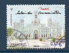 """FRANCE OBLITERE 2013 """" MADRID PALAIS DES COMMUNICATIONS """"  N° 4732 CACHET ROND"""