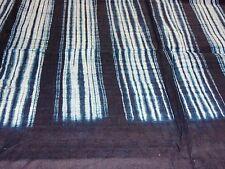 Dogon Indigo Batik West-Afrika Baumwolle Überwurf Vintage Stoff Wandbehang Tuch