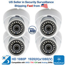 4x Night Vision Wide Angle Outdoor Indoor Cctv Security Camera 1080p Tvi Cvi Ahd