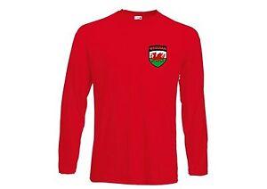Wrexham FC Football Soccer Style Long Sleeved Kids T-Shirt - All Sizes