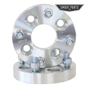 """(2) 1"""" 4x100 to 4x114.3 Wheel Spacers Adapters12x1.5 studs"""