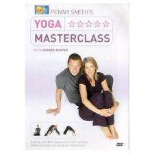 Penny Smith's Yoga Masterclass Lessons Howard Napper DVD Teach Help Train UK NEW