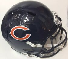 JAY CUTLER SIGNED AUTOGRAPHED CHICAGO BEARS FULL SIZE SPEED HELMET