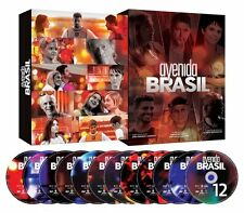 AVENIDA BRASIL = BOX ORIGINAL 12 DVDs Novela TV Globo Brazil Avenue NEW SEALED!