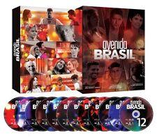 AVENIDA BRASIL = BOX ORIGINAL 12 DVDs Novela TV Rede Globo dvd LACRADO SEALED!