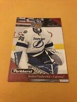 Andrei Vasilevskiy 17-18 Parkhurst Red Card Tampa Bay Lightning