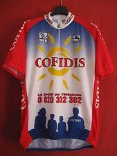 Maillot cycliste Cofidis 2001 MBK Giordana Vélo Cycling vintage - XXXL