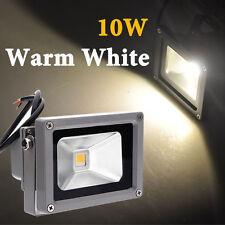 Projecteur 10W LED Lumière Eclairage Blanc Chaud 900LM Etanche IP65 Exter DC 12V
