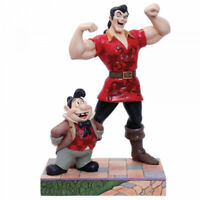 Disney Traditions Gaston and Lefou Muscle-Bound Menace Figurine 6005969 New