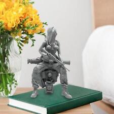 1/35 sitzender weiblicher Soldat SEAL Commando Resin Soldier Figuren