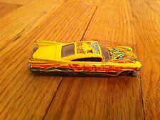 Hot Wheels Cadillac Mundo Lucha El Fuego Custom 2001 Yellow cool looking used