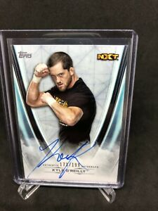 2020 Topps WWE Undisputed Autograph #/199 Kyle O'Reilly Auto On Card