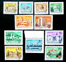Hungary, 1972-79, Buildings & Architecture, Short Sets, 11 Stamps, Used