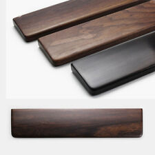 Natural Solid Wood Wooden Mechanical Laptop Keyboard Wrist Rest Pad Hand Support