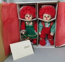 "Marie Osmond * Jingles And Belle * 12"" christmas twins xmas limited edition 6306"