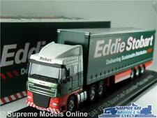 EDDIE STOBART DAF XF105 TRUCK LORRY MODEL 1:76 SIZE ATLAS OXFORD OZZY JUDE T3