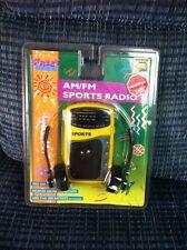 New Sealed Lenoxx Street Beat Sports Radio Headphones + Speaker Yellow