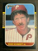 1987 Donruss Mike Schmidt #139 - Philadelphia Phillies - HOF - MINT
