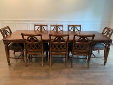 Antique Dining Room Set of 9