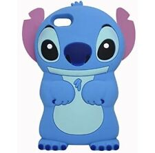 iPod Touch 5th / 6th Generation Blue Stitch Case,3D Cartoon Animal Character