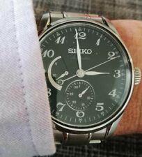 Montre automatique Seiko SPB043J1 de la collection Presage . Témoin de réserve.