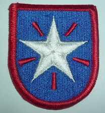 AMERICAN PATCHES-1970/1980 U.S ARMY 36th INFANTRY BRIGADE FULL COLOUR