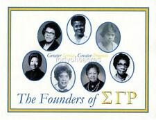 """FOUNDERS Series - Sigma Gamma Rho Print - """"GREATER..."""" (Version 2)"""