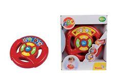 SIMBA ABC Baby Lenkrad, Baby Spielzeug mit Licht und Sound ab 12 Monate