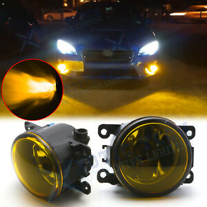 For Subaru WRX / STI 2015-2017 Outback OE Replacement Fog Lights - Golden Yellow