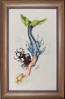 "SALE! COMPLETE XSTITCH KIT ""Mediterranean Mermaid MD102"" by Mirabilia"
