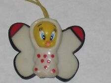 "Hanging 1"" Tweety Bird In Butterfly Costume"
