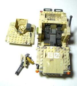 Mega Bloks Halo Jeep bricks weapon no piece count replacement parts