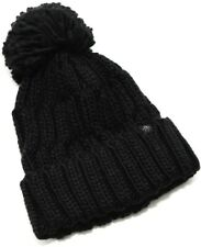 Original Penguin Tundra Bobble Beanie Hat - Black