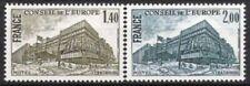 Frankreich Nr.D 25/26 ** Europarat 1980, postfrisch