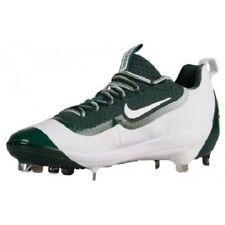 Men's Nike Air Huarache 2K Filth Elite Low Metal Baseball Cleats Green White 13