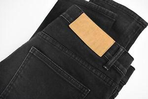 CHEAP MONDAY DROPPED NEW BLACK Men's W32 L31 Stretchy Slim Fit Jeans 33192-GS