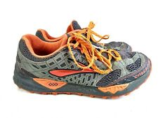 Brooks Cascadia 7 Men Sz US 8.5 EU 42 Trail Running Shoes Gray Orange 22-29