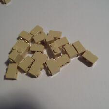 LEGO - 20 x Stein Steine Leisten 1x2 / 2x1 Beige 3004 (10155)- NEU