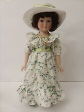 A Connoisseur Collection Porcelain Doll Handpainted By Seymour Mann Signature