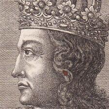 Portrait XVIIIe Rodolphe Ier de Bohême Rodolphe de Habsbourg Österreich 1744