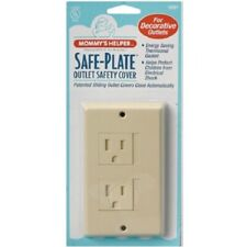 Mommy's Helper Safe Plate Outlet Cover-Almond #0891