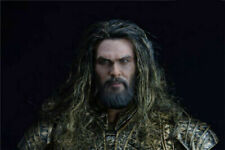 1/6 Scale Aquaman Head Carved Sculpt Toy F 12'' Hottoys Action Figure Model