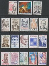 France - 1978/85, 18 x Issued stamps - MNH