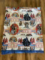 Vintage 1983 Star Wars Return Of The Jedi Throw blanket BedspreadQuilt ROTJ